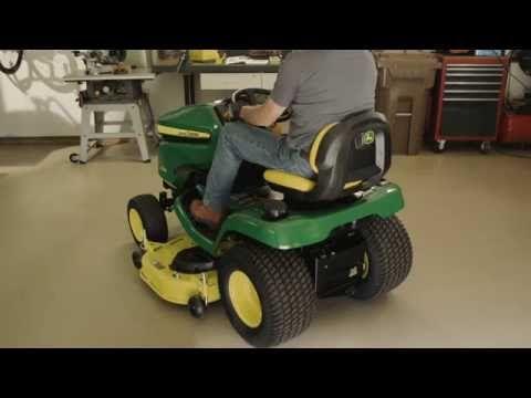 How To Level A Mower Deck | John Deere X300 & X500 Lawn