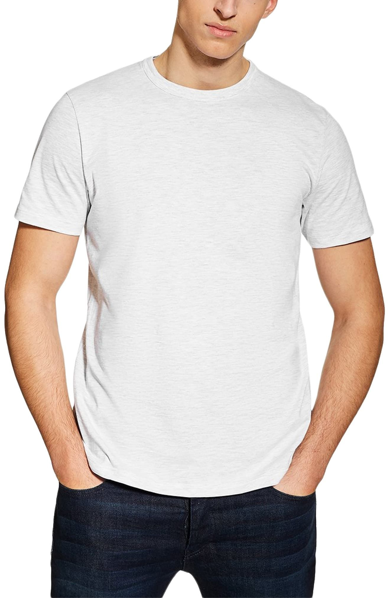29f0c02b15bdd Men's Topman 3-Pack Classic Fit Crewneck T-Shirts, Size X-Large - Grey