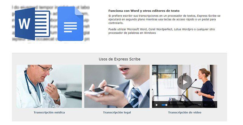 Cómo Transcribir Audio A Texto Los 14 Mejores Programas Online Y Gratuitos Formato Siete Editor De Texto Textos Audio