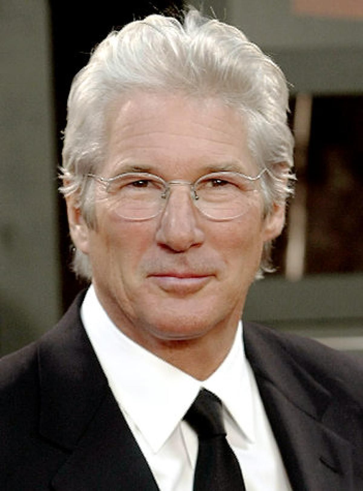 grey hair styles richard gere vlasy richard gere 8226
