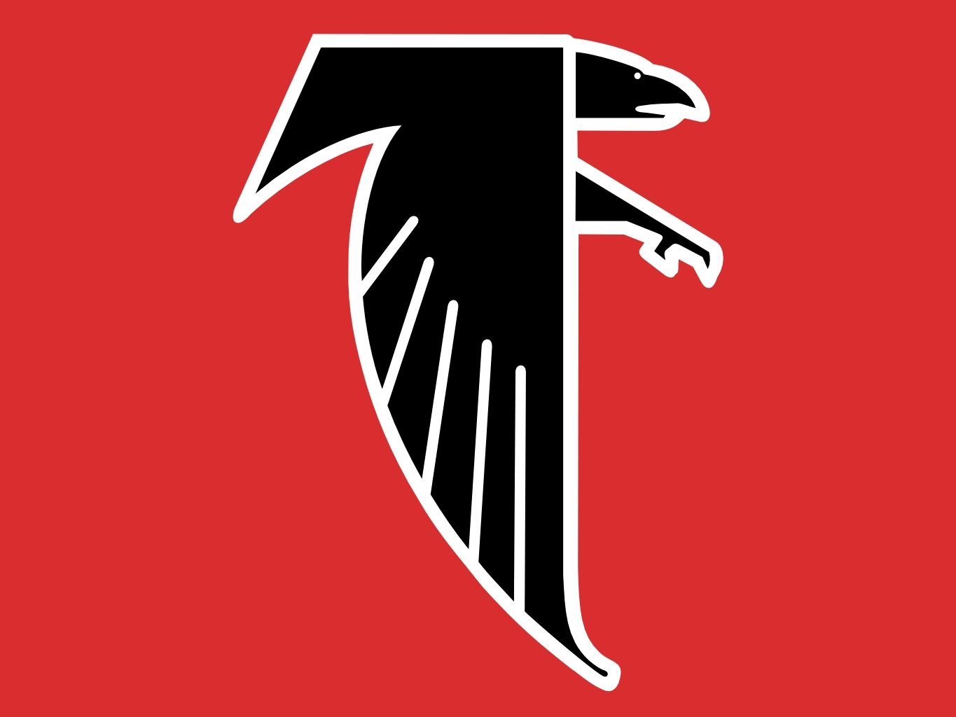 Atlanta Falcons Old Logo Jpg 1365 1024 Atlanta Falcons Nfl Teams Logos Falcons Football