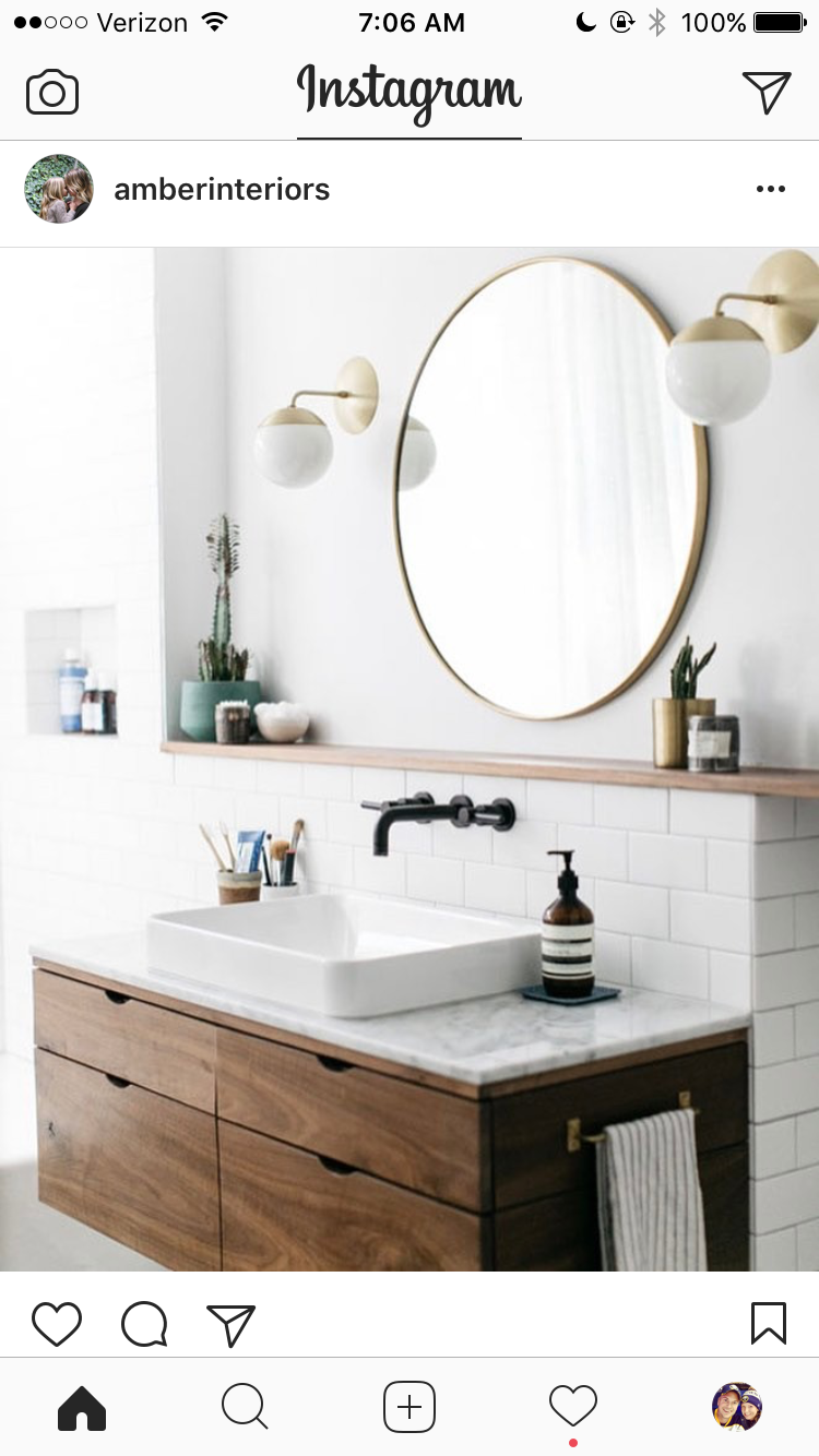 Shelf Above Sink