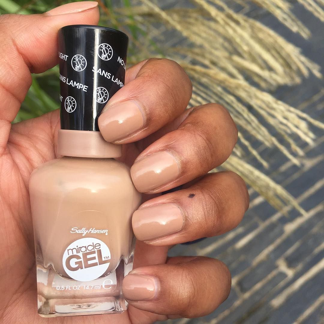 Sally Hansen Totem Ly Yours On Dark Skin Nail Polish