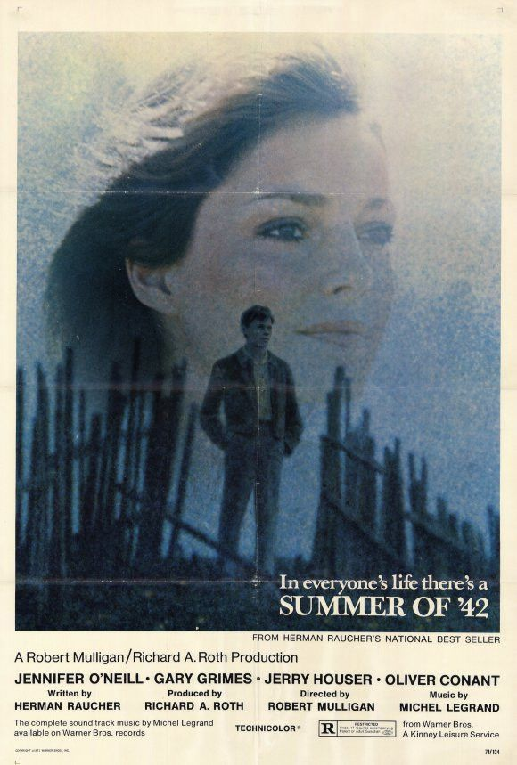Summer Of 42 27x40 Movie Poster 1971 42 Movie Movie Posters Movies