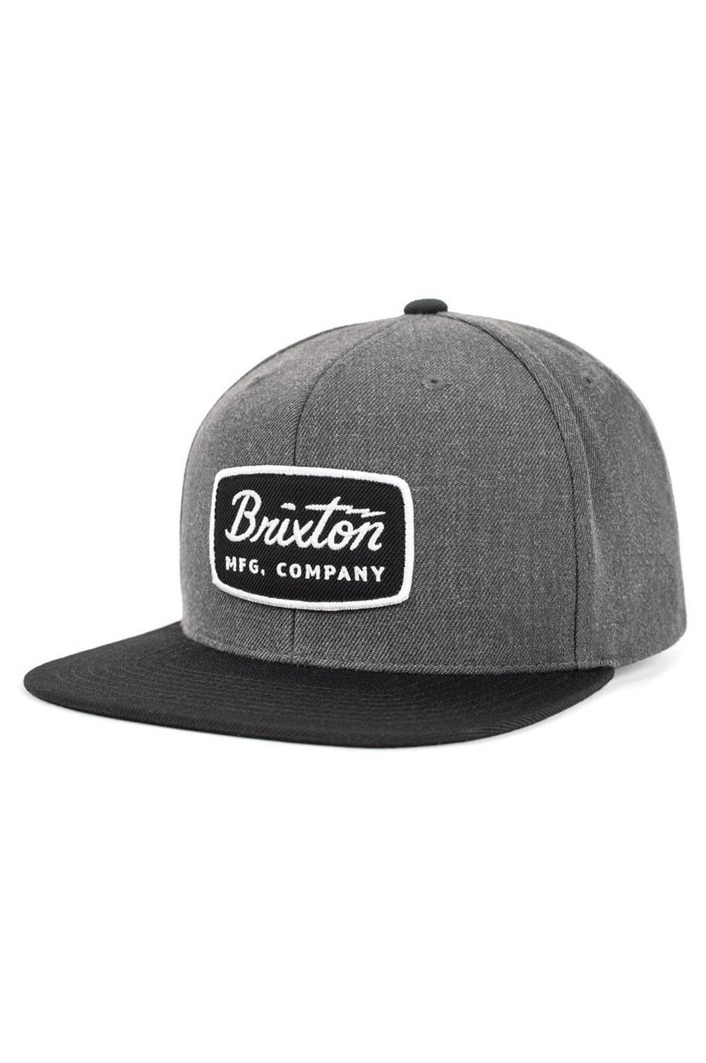 3b0bb18bef8  Brixton  snapback  Hat - The Jolt from Brixton is a six-panel cut and sew  acrylic wool cap with a custom embroidered patch at front and adjustable  snaps at ...
