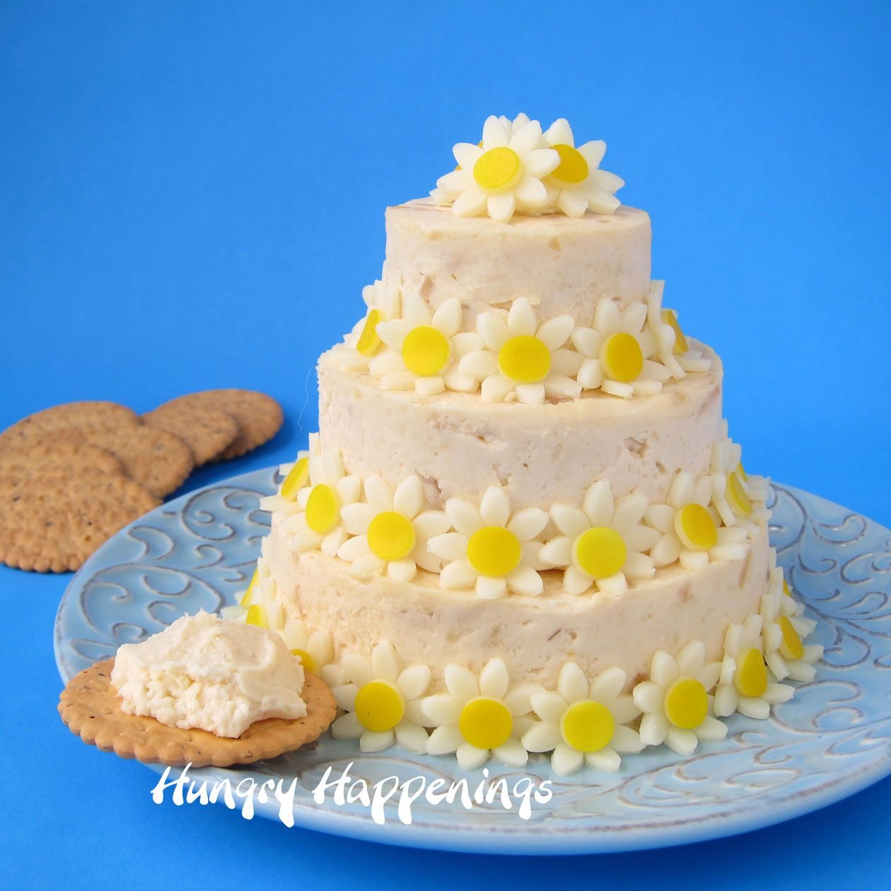 Wedding Cake Cheese Ball Special Occasion Appetizer Cheese