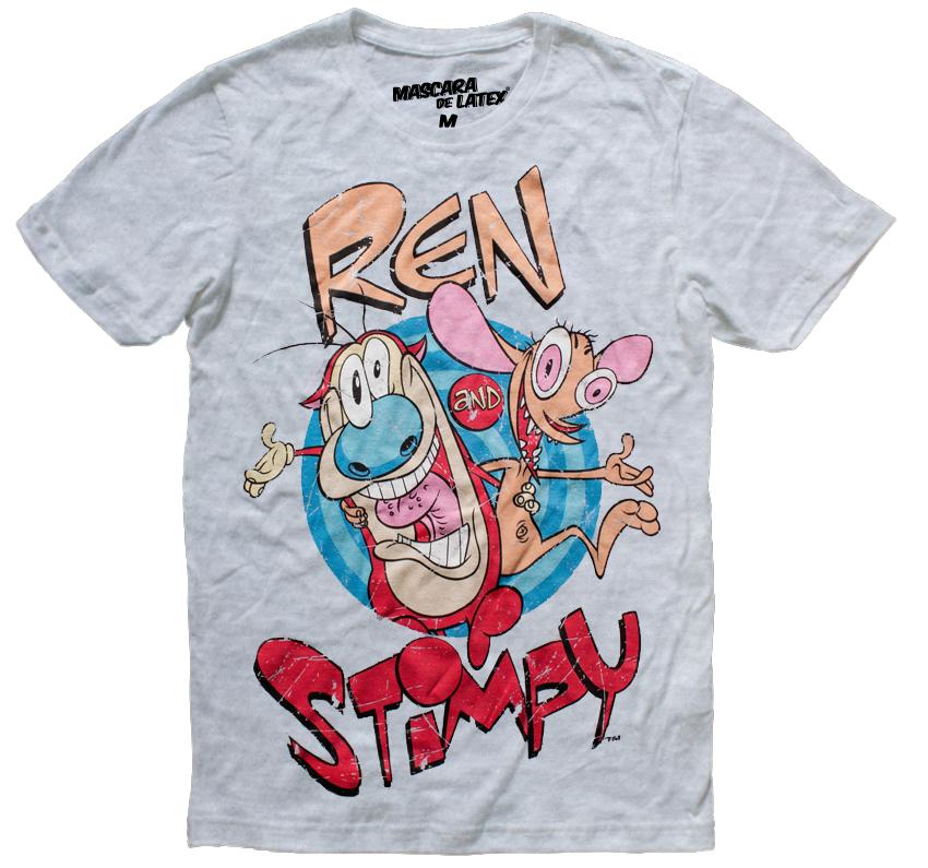 REN Y STIMPY by mascaradelatex.com
