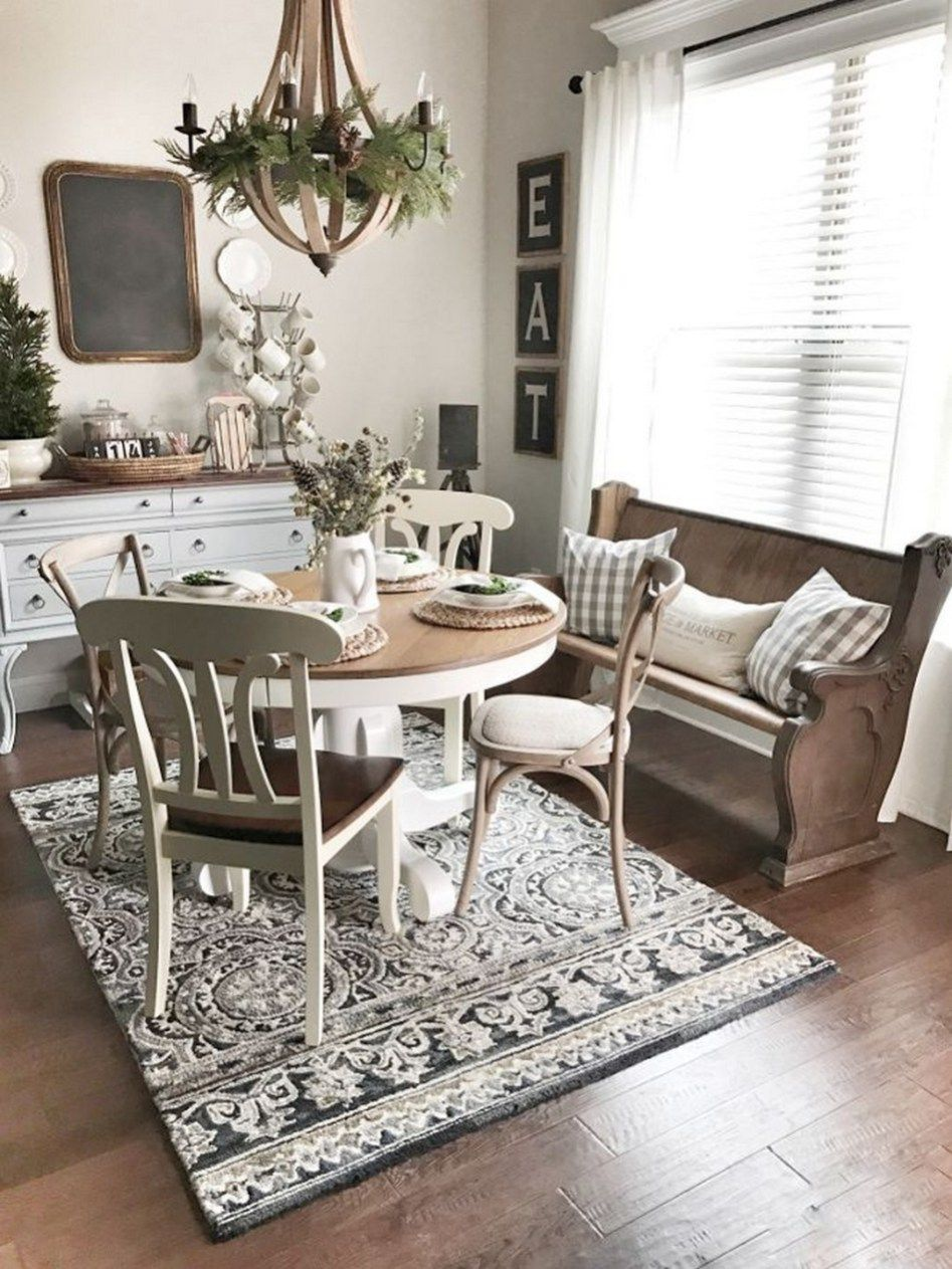 Farmhouse Style Decorating Ideas 99 More Incredible Photos 28 Prepossessing Ideas To Decorate Dining Room Table Decorating Design