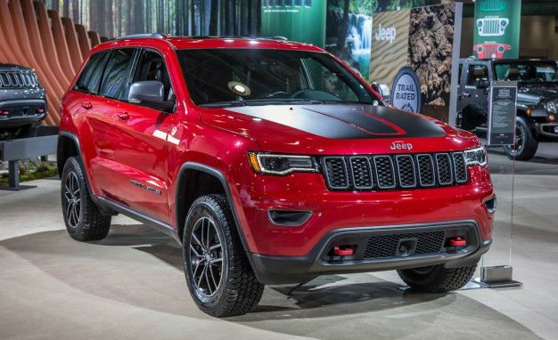 2017 Jeep Grand Cherokee Trailhawk Offroad With Images 2017