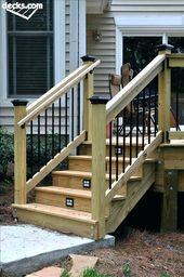 Best Front Step Railings Porch Handrails Deck Step Railing Deck 400 x 300