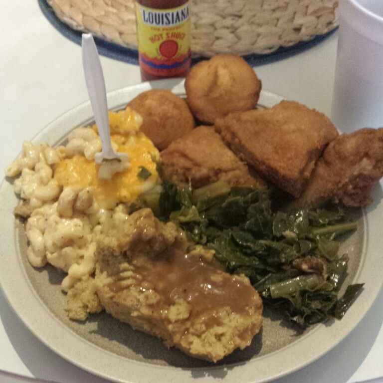 Homemade Soul Food Plates