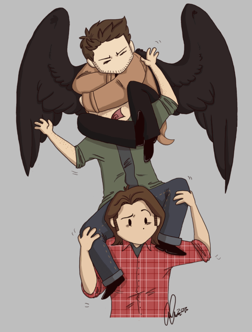 It's just us. You & me. on Supernatural funny
