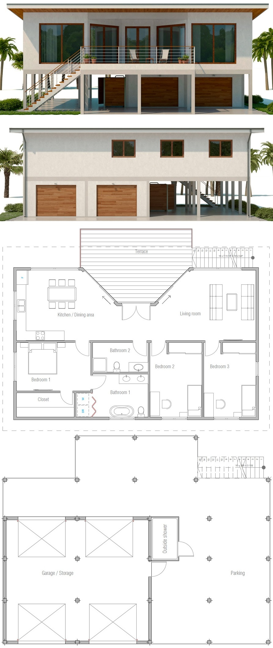 Beach House Plan Concepthome Beach House Plans Coastal House Plans Beach House Flooring