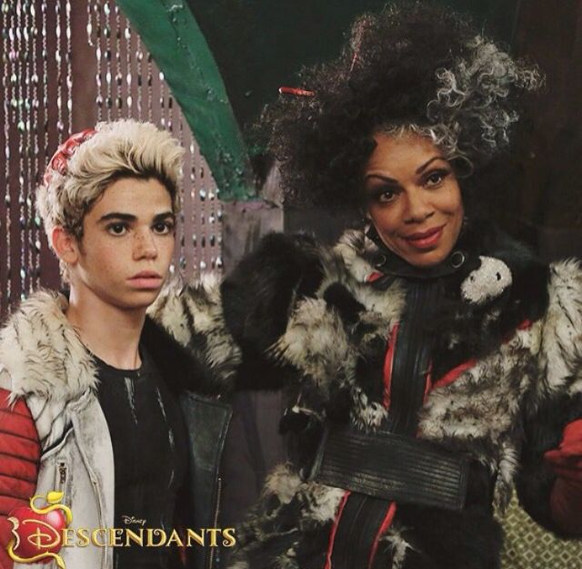 Cruella & Carlos de vil Disney descendants