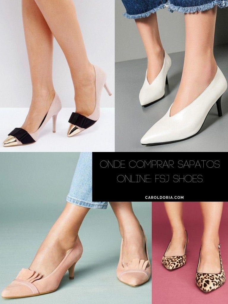 1e5b8a5c21 Onde Comprar Sapatos Online  FSJ SHOES - Carol Doria
