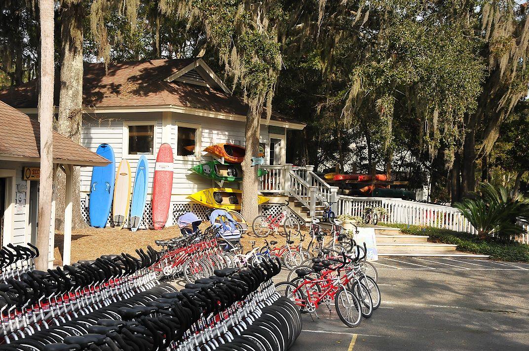 Bike rentals on Hilton Head Island