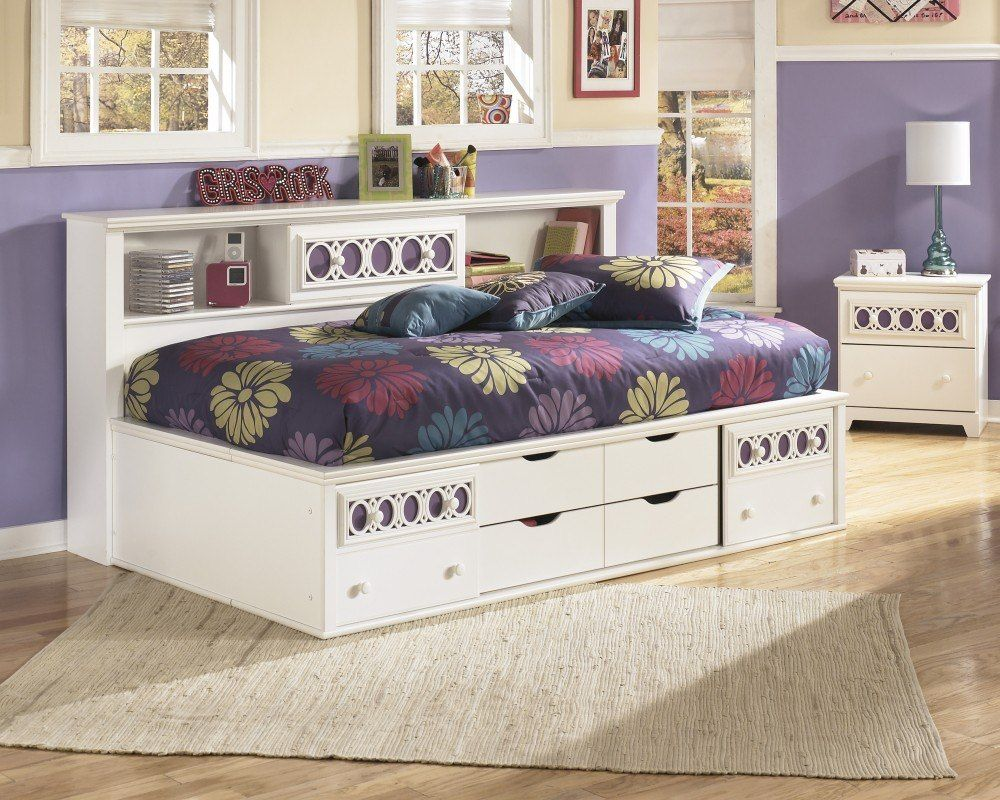 20 Cool Bookcase Headboard Designs Bookcase Bed Daybed With Storage Furniture