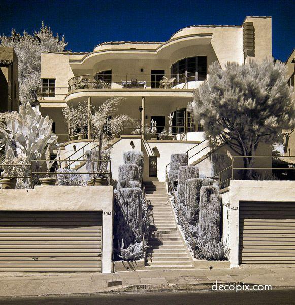 Art Deco Apartments - Los Angeles | Architecture | Pinterest | Art ...