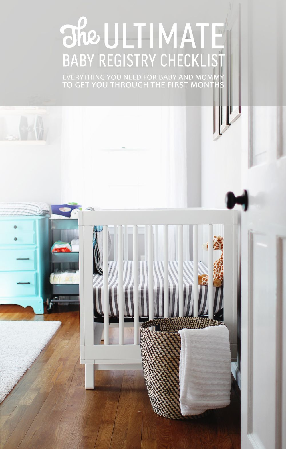 The Ultimate Baby Registry Checklist For Your New Little