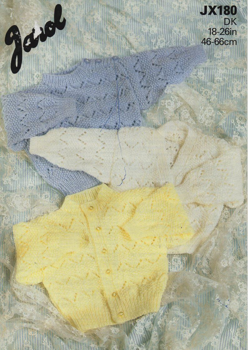 23d2f804a baby   childs DK cardigan sweater knitting pattern pdf baby button ...