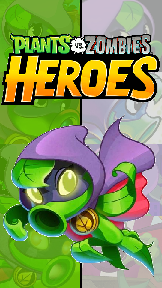 Pvz Heroes Green Shadow Iphone Wallpaper By Photographerferd