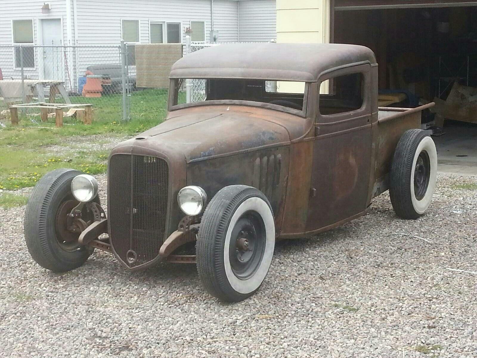 1934 Chevy Hot Rod Trucks Hot Rod Pickup Rat Rods Truck