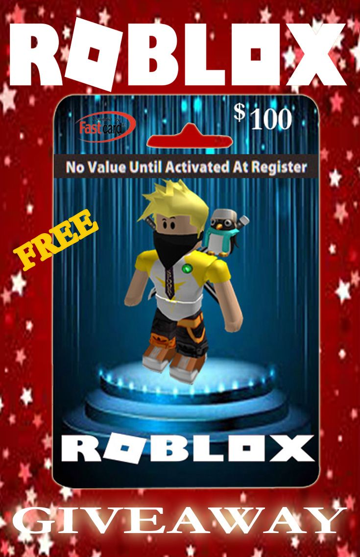 Get free 100 roblox gift card of this link