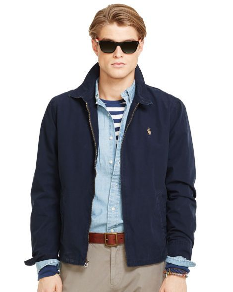 Cotton Landon Windbreaker - Polo Ralph Lauren Lightweight & Quilted -  RalphLauren.com-Size