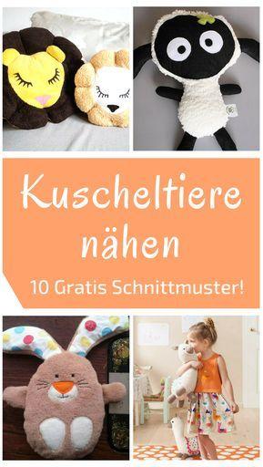 Photo of 10 kostenlose Schnittmuster für Kuscheltiere