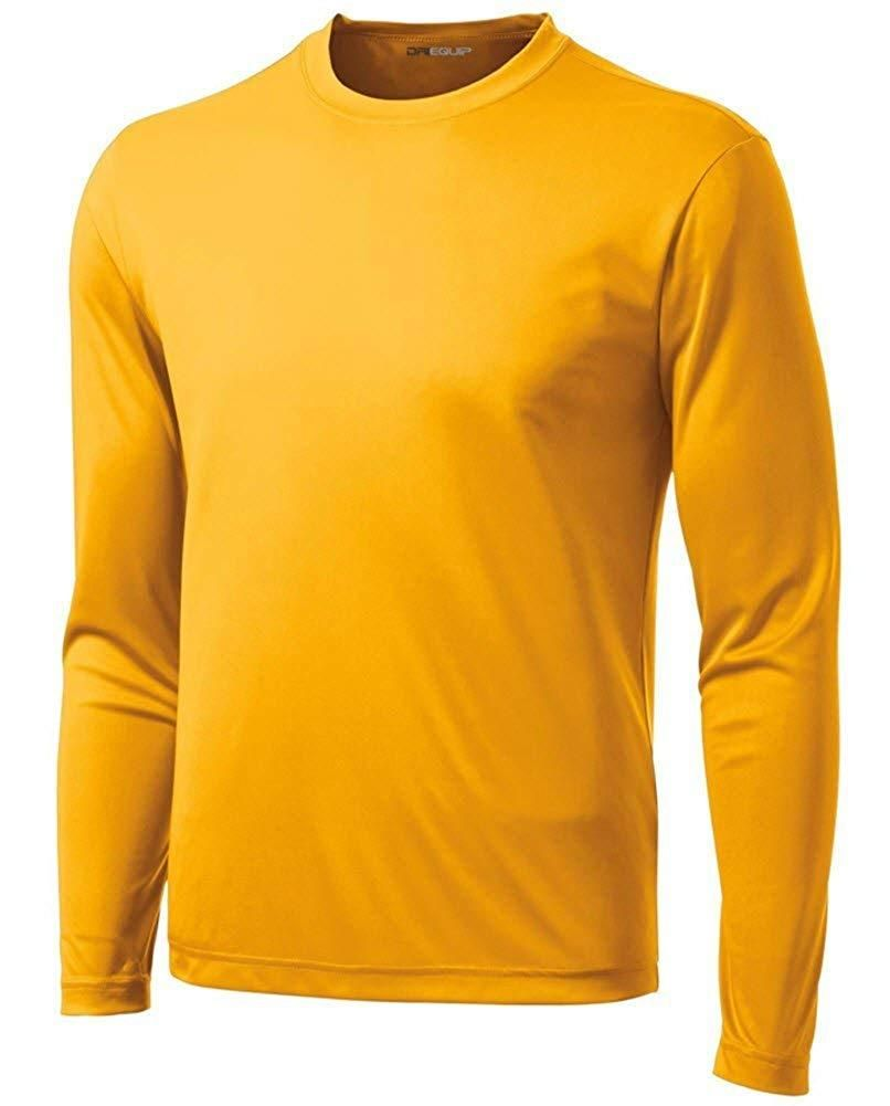 e2942af744 DRI-EQUIP Long Sleeve Moisture Wicking Athletic Shirts in 2019 ...