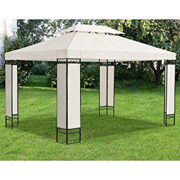 gartenzelt amazonsmile pavillon capri 3 x 4 m in anthrazit mieten koln