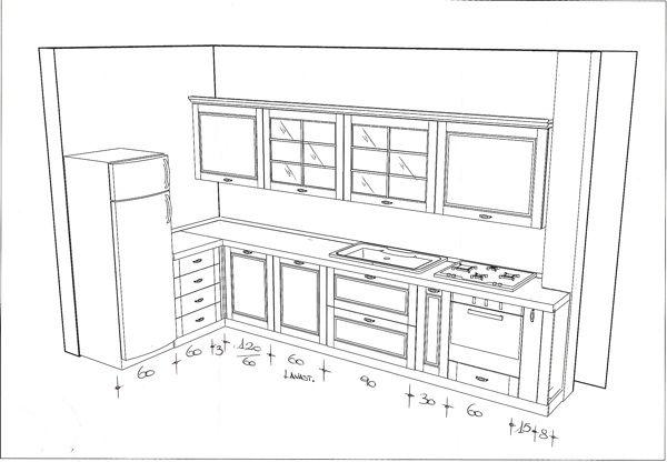 Progettare cucina modern decor pinterest cucina for Progettare mobili