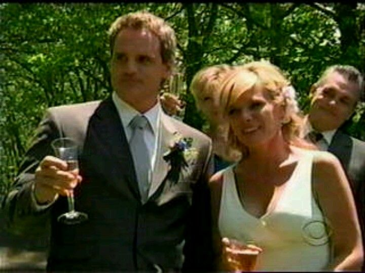 ATWT Jack and Carly #3 | Tv weddings, Celebs, Actor