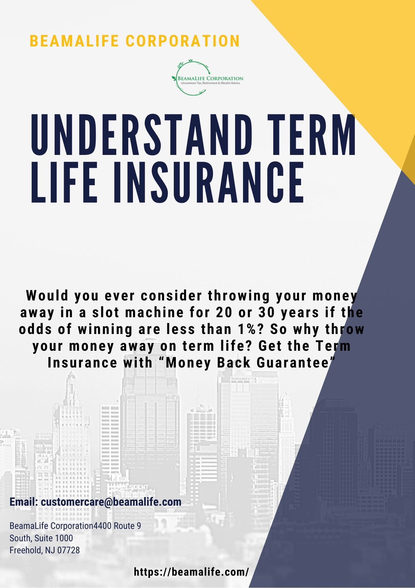 Tax Benefits On Term Insurance Policy in 2020 Term life