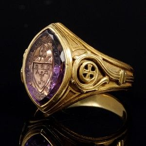4f09ddc26 Pope's Ring History | Antique Gold Signet Rings: History of the Seal Ring