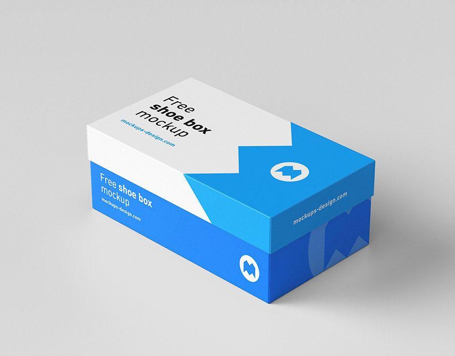 """Download Vedi questo progetto @Behance: """"Free shoe box mockup ..."""