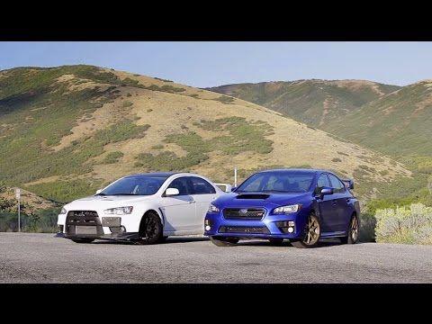 Evo Vs Sti Tribute Mitsubishi Lancer Evo Outlander Car Pajero Evo Mitsubishi Sti