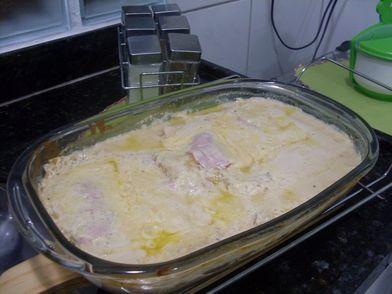 Photo of Receita de Lasanha de presunto e queijo ao molho branco, enviada por Carla