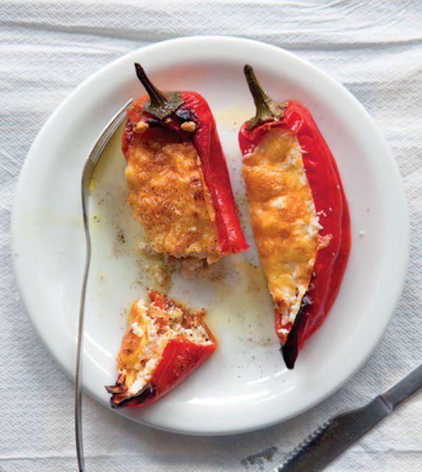 Stuffed Peppers With Feta Recipe
