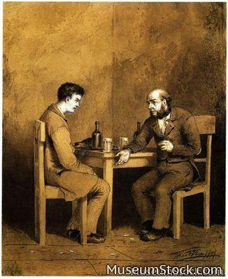 Raskolnikov Marmeladov Art Crimeandpunishment Dostoevsky