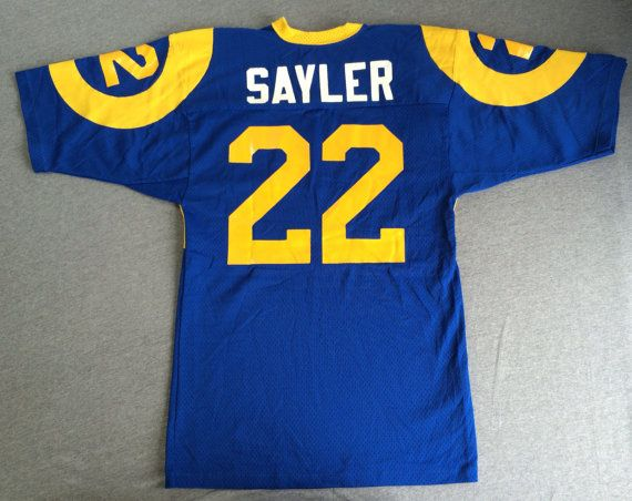 best sneakers b7cac f3a37 Los Angeles RAMS Jersey Sand Knit 80s Original by ...