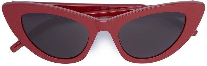 c3f00374f2 Saint Laurent Lily Narrow Cat Eye Sunglasses