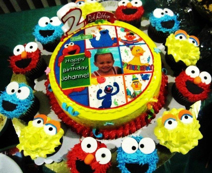 Happy Birthday Cake Red Ribbon