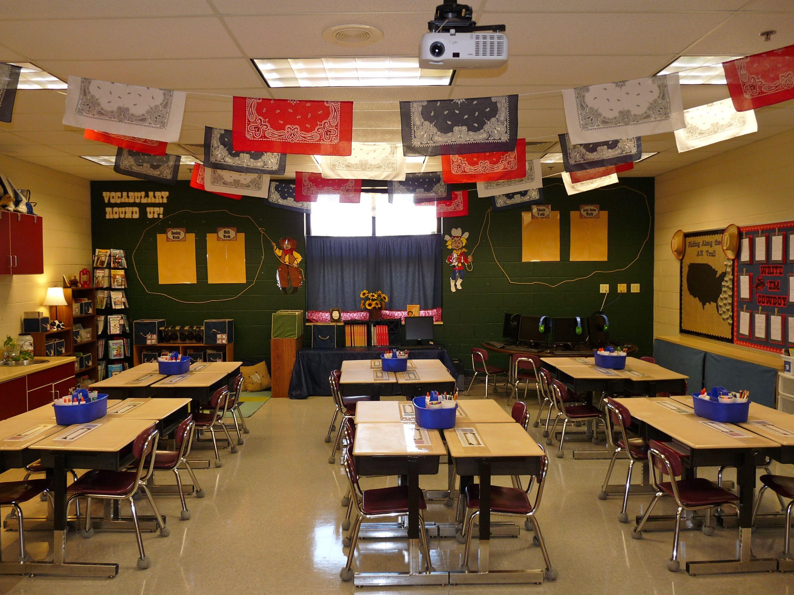 Western Classroom Decorations