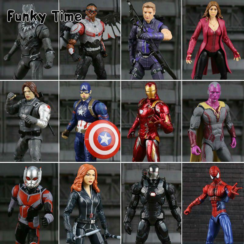 2018 New Captain America Civil War Marvel Legends Man Action Figure Soldier