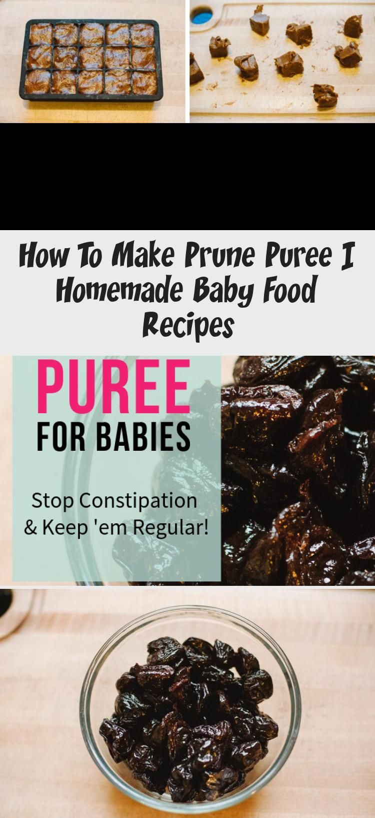 How To Make Prune Puree in 2020   Homemade baby food ...