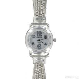 montre bracelet femme argent