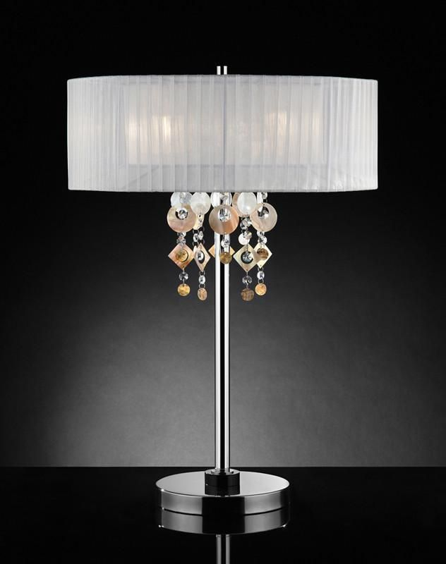 Lighting OK 5136T Moon Jewel Table Lamp