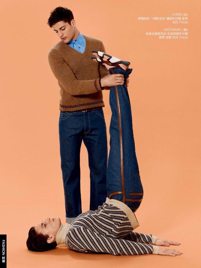 Denim Boys Gq China Does Denim Style In A Big Way Denim Fashion  # Bois En Chaene