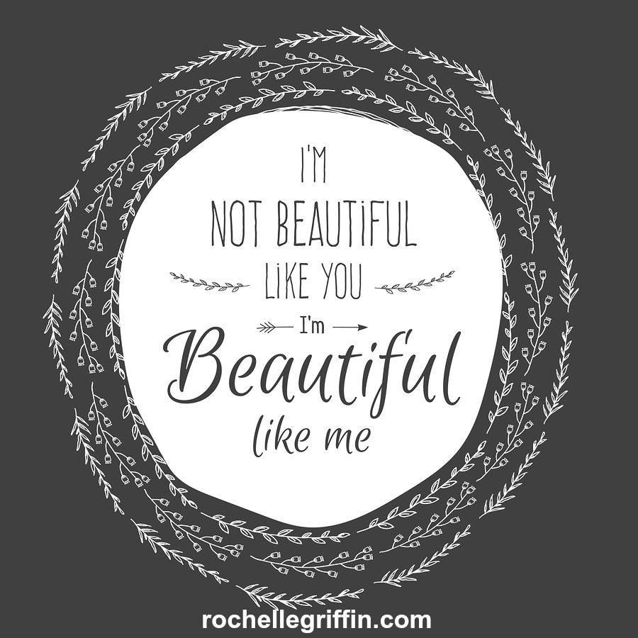 Embrace yourself, quirks & all. They make you YOU...and you are beautiful! <3